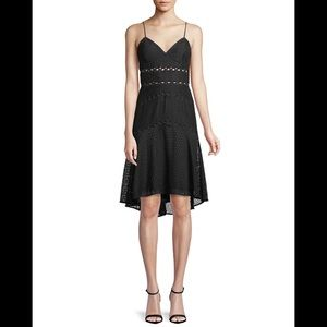 Bardot Ariana High-Low Fit and Flare Dress